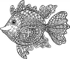 Entertaining Your Young Kid May Be Difficult But Here Is An Easy Way To Keep Him Happily Busy By Giving These Free Printable Exotic Fish Coloring Page