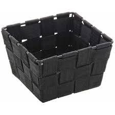 aufbewahrungskorb adria schwarz regalkorb korb box ablage organizer bad küche