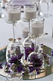 best 25 wine glass centerpieces ideas on pinterest candle