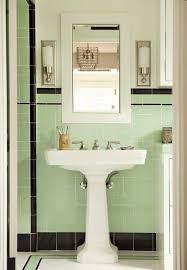 beautiful b and w tile 54 best 1950s bathroom images on