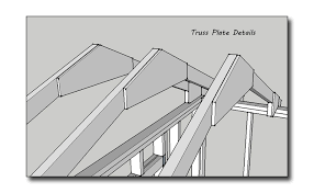 Ceiling Joist Spacing Uk by 134577d1427906503 Shed Roof Without Ceiling Joists Truss Plate