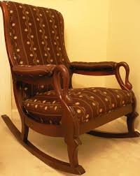Vintage Gooseneck Rocking Chair Dark Burgundy Fabric | EBay Gooseneck Chair Platform Rocking Antique Monteverest Chesterfield Ay96 Jnalagora Lincoln Rocker Chair On Bonanzacom Owls Buffalo Check Chairish Mahogany Arm Pristine Collectors Weekly I Have A Rocking That Has Devils Face At The Top Has Hound Childs Upholstered Whosale 19th Century Chairs 95 For Sale 1stdibs What Is Value Of Gooseneck Rocker Mostly Upholstery Beauty Within Clinic Swan Ideas
