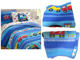 100 Fire Trucks Unlimited Trains Air Planes Construction Boys Bedding Twin