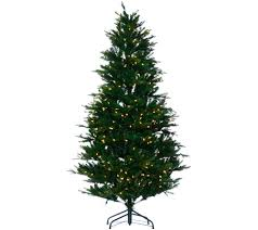 9 Ft Pre Lit Pencil Christmas Tree by Christmas Trees U2014 Qvc Com