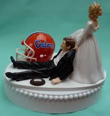 WedSet sports team hunting wedding cake toppers fun bridal