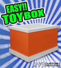 Easy Diy Toy Box by A Toy Box That Anyone Can Make Jays Custom Creations