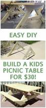best 25 kids wooden picnic table ideas on pinterest wooden