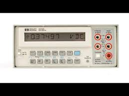 Bench Dmm by Hp3478a 5 5 Digit Bench Dmm First Look And Functional Test Youtube
