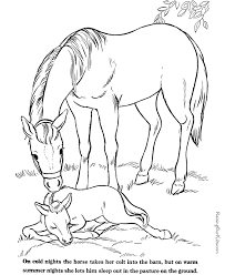 Farm Animal Picture To Print And Color