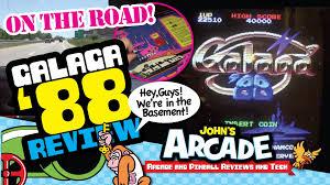 Galaga Arcade Cabinet Kit by Galaga U002788 Arcade Game Review At Funspot Arcade Namco Atari