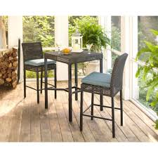 Pacific Bay Patio Furniture Replacement Glass by Bar Height Dining Sets Outdoor Bar Furniture The Home Depot