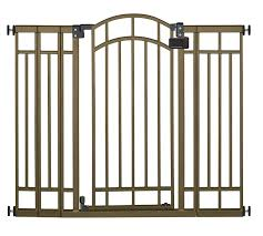 Top 10 Best Safety Gates For Stairs | Heavy.com Best Solutions Of Baby Gates For Stairs With Banisters About Bedroom Door For Expandable Child Gate Amazoncom No Hole Stairway Mounting Kit By Safety Latest Stair Design Ideas Gates Are Designed To Keep The Child Safe Click Tweet Summer Infant Stylishsecure Deluxe Top Of Banister Universal 25 Stairs Ideas On Pinterest Dogs Munchkin Safe