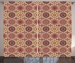 gardine schlafzimmer kräuselband vorhang mit schlaufen und haken abakuhaus marokkanisch böhmische flora kaufen otto