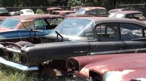 100 Wrecked Ford Trucks For Sale Gearhead Field Of Dreams Antique Car Salvage Yard YouTube