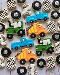 100 Dump Truck Cookie Cutter Dumptruck And Tractor Cookies For A Cutie Turning 2 Love