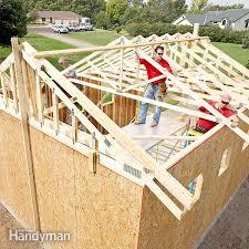 How to Build a Garage Framing a Garage