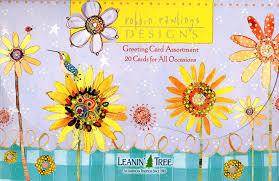 100 Robbin Rawlings Leanin Tree Greeting Cards Robbin Rawlings Designs AST90756 20 Greeting Cards With Fullcolor