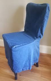 Pottery Barn Side Dining Chair Loose-fit Slipcover - Rear Tie - Indigo Denim Buy Chair Covers Slipcovers Online At Overstock Our Best Authentic Denim One Piece Wing Slipcover Pleated Drape Leanking Knit Spandex Fabric Stretch Removable Washable Ding Room Home Decor Set Of 4 B Pcs Room Chair Slipcovers And Also Long Ding Covers Serta Relaxed Fit Smooth Suede Fniture 2 Pack Dingparsons Long Skirt White Cotton Marvelous Cisco Brothers Parsons Dning Slip Barn Beyond How To Sew A For The Ikea Henriksdal Bar Pottery Side Loosefit Tie Indigo Surefit Jacquard Damask Shorty Oyster Sf40120 Hampton Bay Spring Haven Cushionguard Midnight Patio 2pack