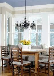 Chandelier Over Dining Room Table by Interior Stunning Image Of Breakfast Room Decoration Using Yellow