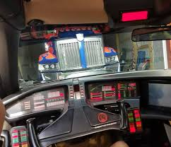 Optimus Prime Meets KITT From Knight Rider! #OptimusPrime ...