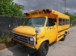 1995 Chevrolet School Van Bus Conversion