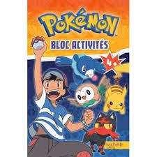 Hachette Jeunesse Bloc Dactivités Pokemon Hourafr
