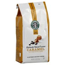Starbucks Natural Fusions Caramel Coffee Ground