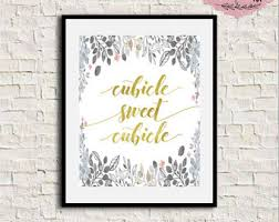 Cubicle Decoration Ideas For Engineers Day by Office Wall Decor Etsy