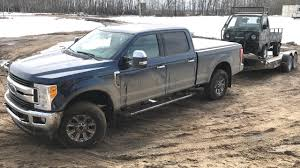100 Ford Mini Truck Vs Super Duty Guess Which One Gets Stuck