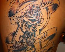 Tribal Tattoo Meaning Strength