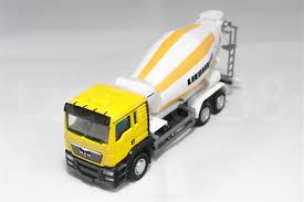 100 Cement Mixer Toy Truck RMZ City 164 DIECAST MAN Liebherr Yellow Model