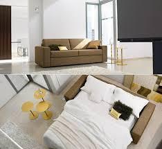 schlafsofas für kleine wohnzimmer kompakte schlafcouch