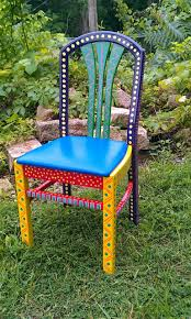 Hand Painted Furniture Chair Colorful Crazy Purple Back In 2019 ... Safavieh Outdoor Living Abia White Wrought Iron Tree Bench 50 Whimsical Outdoor Wedding Reception With Market Lights And Cross Buy Dedon Mu Lounge Chair Online Clima Oak Leaf Wind Weather Faux Queen Anne Metal Garden Chairs For Sale At 1stdibs Amazoncom Kids Wooden Whimsical Aries The Ram Engraved Lets Do Ding Making It Lovely Shop Contemporary 37 Inch Red Wire By Studio Breezy And The Beautifully Contoured Frame On This Bright Scene Child Size Stock Photo Edit Now
