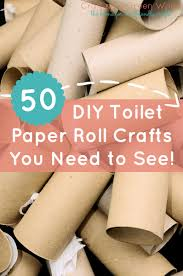 50 DIY Toilet Paper Roll Crafts You Need To See