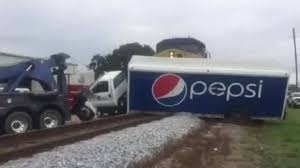 His Pepsi Truck Got Stuck. Then He Saw A Train Coming. | The Sun Herald Four Killed As Truck Hits Bus On Lagosibadan Expressway Premium Pepsi Crashes Into Fort Bend County Creek Abc13com Update One Dead After Tractor Trailer House In Carroll Truck Crash Chicago Best 2018 Woman Dies Crash Between Car I95 Cumberland Part Of Nb I69 Eaton Co Reopens 1 Critical Cdition Hwy 401 Near Dufferin The Poultry Reported Rockingham Cleveland His Got Stuck Then He Saw A Train Coming Sun Herald Louisa Man Gop Crozet