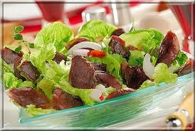 cuisiner les gesiers salade de gésiers a vos assiettes recettes de cuisine illustrées