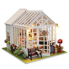 Other Toys Large Wooden Kids Doll House Barbie Kit Girls Play