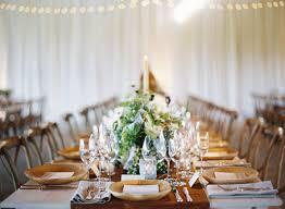 Indoor Rustic Green Wedding Reception Ideas