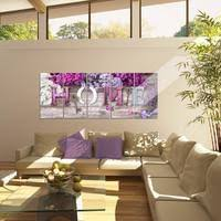 home flieder bild 150x60 cm fotografie auf vlies leinwandbild dekoration wandbilder modern kunstdruck mehrteilig 504056a