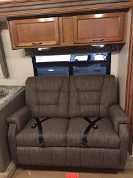 Rv Jackknife Sofa With Seat Belts by Lambright Superior 58