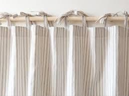leinen vorhänge natürliche gestreifte vorhänge küche vorhänge badezimmer vorhänge benutzerdefinierte vorhänge