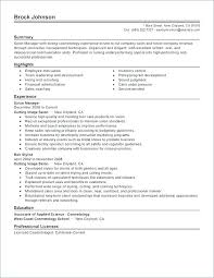 Hair Stylist Resume Examples Example