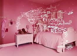 Girls Bedroom Wall Decor by Girls Bedroom Entrancing Bedroom Decoration With Various