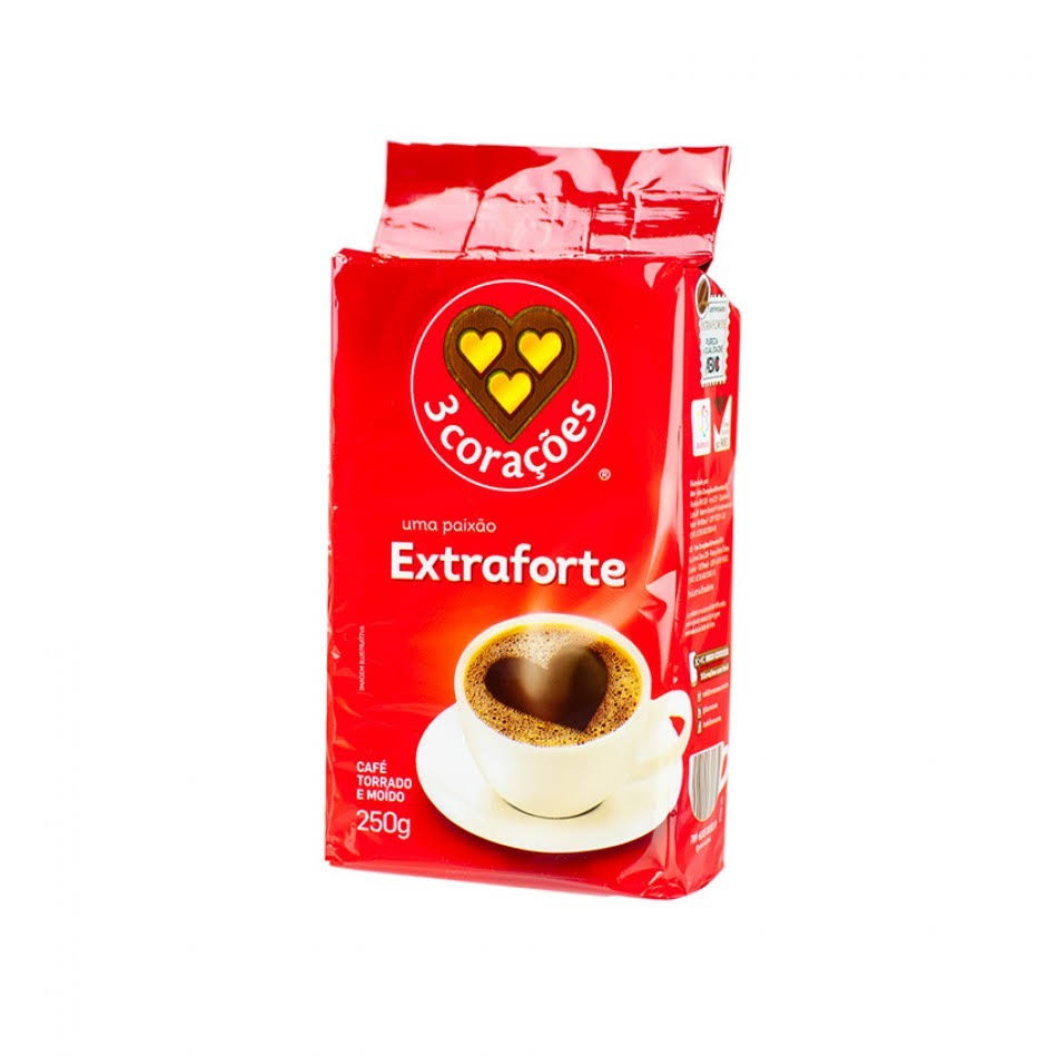 3 Coracoes Coffee - Extra Forte, 250g