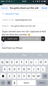 How to send large attachments with Mail Drop on iOS