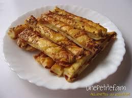 pate brisee au fromage allumettes au roquefort une faim