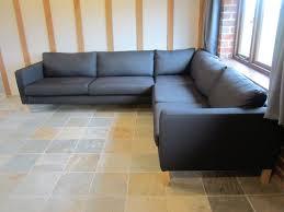 new ikea karlstad corner sofa cover 2 3 3 2 slipcover sivik dark