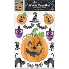 Scene Setters Halloween Uk by Halloween Window Wall Stickers Party Decorations Cling Spooky Gels