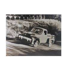 100 35 Ford Truck LED Lighted Older Model Canvas Wall Art 12 X 1575
