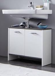waschbeckenunterschrank bad badezimmer unterschrank weiß
